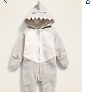 Shark Fleece Suit
